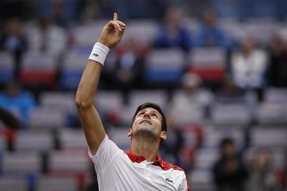 Novak Đoković slavi trijumf