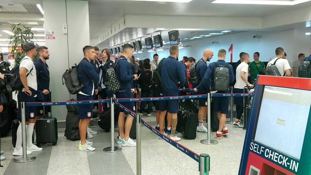 Reprezentacija Srbije kreće ka Luksemburgu