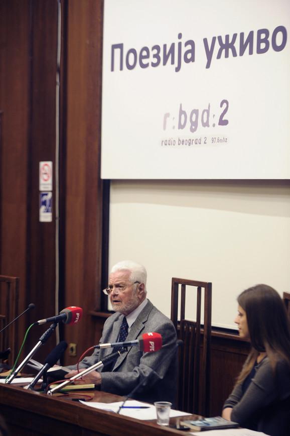 "Veče ""Poezija uživo"" koje Drugi program Radio Beograda organizuje sa Kolarčevom zadužbinom"