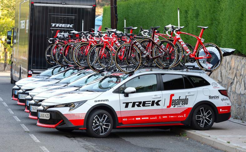 Corolla TREK samochodem teamu Trek-Segafredo