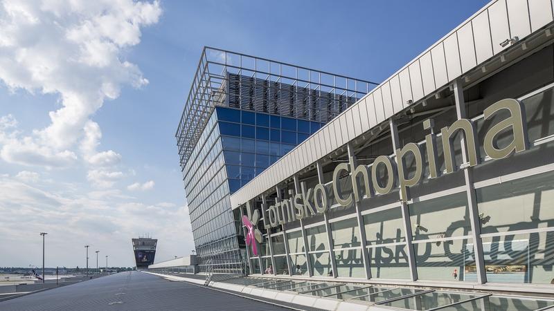 Lotnisko Chopina Warszawa. Materiały prasowe