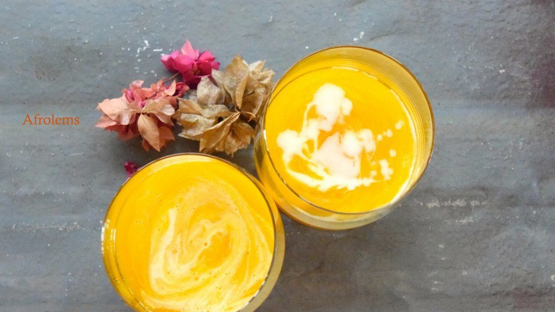 How to prepare mango and tiger nut mocktail - Pulse Nigeria