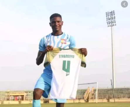 Tiamiyu Kazeem, the Vice Captain of Remo Stars was allegedly killed by a SARS officer in Ogun state. (Remo Stars)