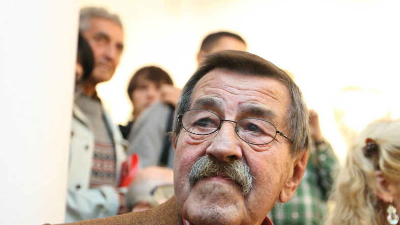 Niemiecki pisarz Guenter Grasss