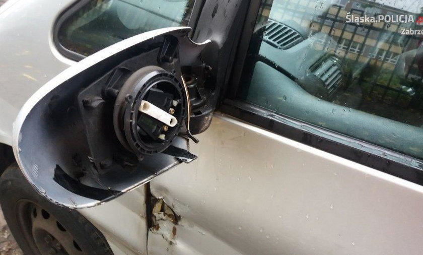 Zabrze: byli zamroczeni, niszczyli samochody