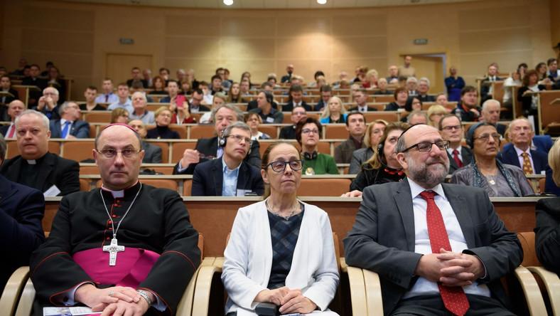 Wojciech Polak, Ruth Cohen Dar, Michael Schudrich