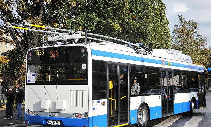 Trolejbusy bez szelek?! Tak pojadą po Gdyni