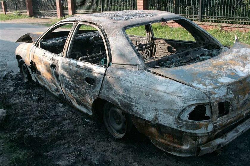 Podpalił koledze auto, bo...