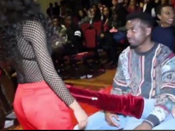 Probala je da se nabacuje ZAUZETOM DEČKU, i to pred njegovom devojkom! Reakcija devojke je HIT