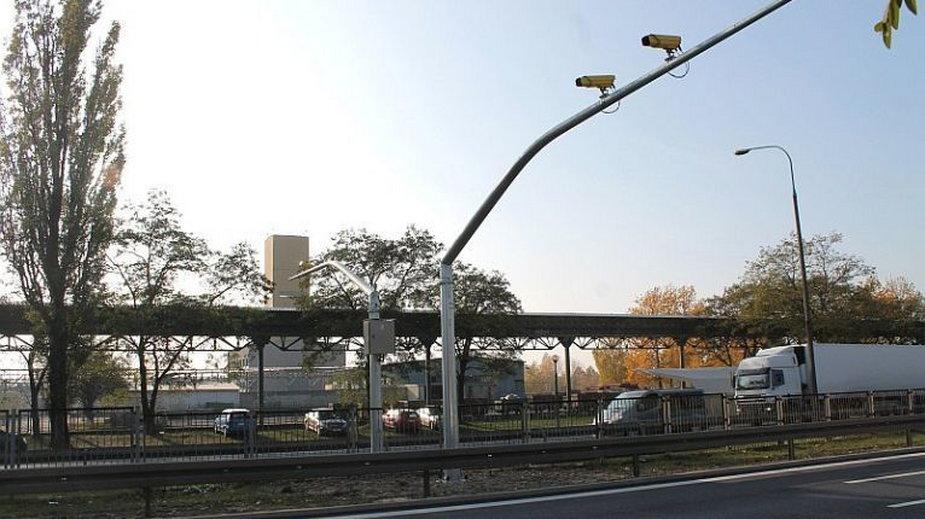 Odcinkowy pomiar prędkości w Lubinie