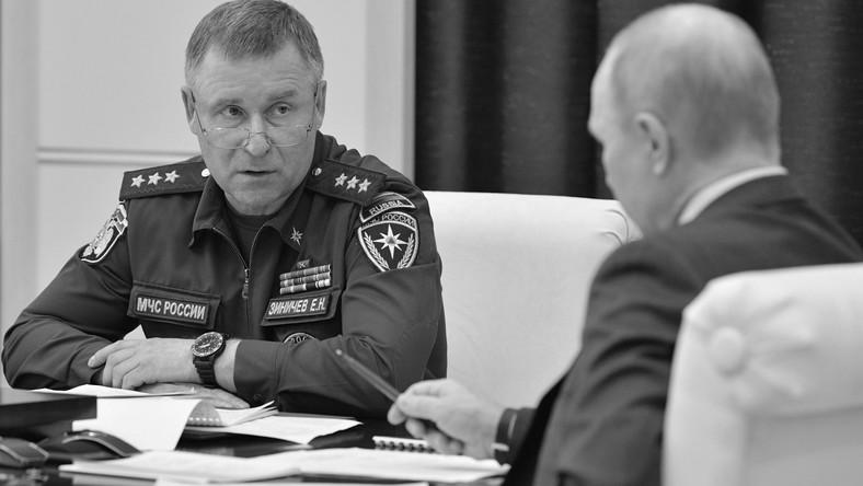 Rosyjski minister do spraw sytuacji nadzwyczajnych Jewgienij Ziniczew