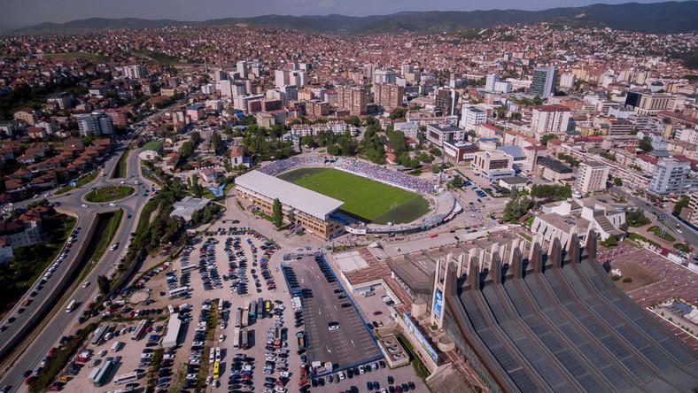 Stadion w Prisztinie