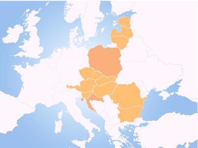 Trójmorze to inicjatywa zrzeszająca państwa od Bałtyku po Adriatyk i Morze Czarne