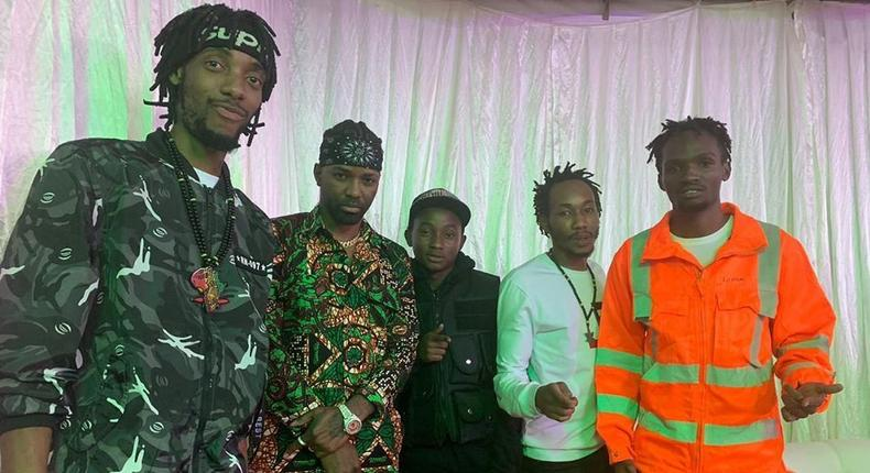 Gengetone Groups Ethic and Boondocks Gang in trouble as their new video is pulled down from YouTube