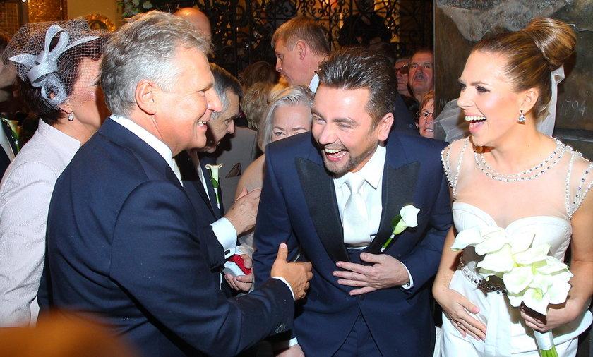 Ślub Aleksandry Kwaśniewskiej i Kuby Badacha