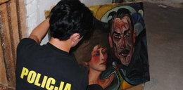 Policjanci znaleźli obraz Witkacego!