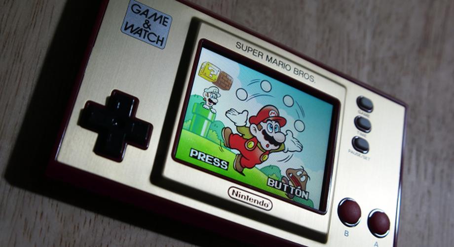 Game & Watch: Super Mario Bros im Test