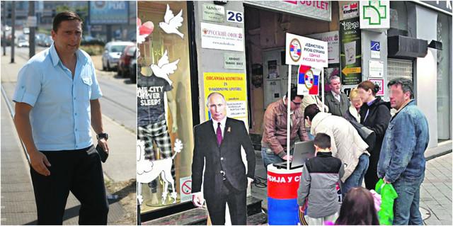 Nikola Sandulović i potpisivanje za Jedinstvenu rusku stranku čiji je spisak overen lažnim pečatom