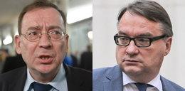 Kamery nagrały kłótnię ministrów o zamachy