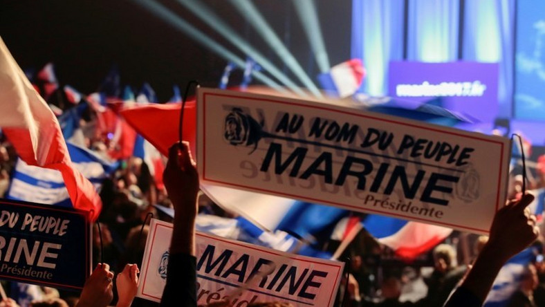 National Front leader Marine Le Pen is widely expected to reach the second round of the French presidential election in May