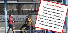 Wulgarna wpadka PKS Częstochowa. Wstyd na całą Polskę!