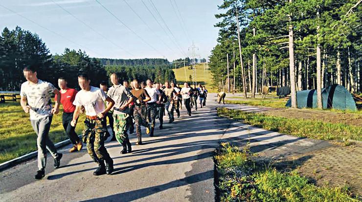 Ruski vojni kamp za decu na Zlatiboru