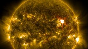 Najpotężniejszy zarejestrowany wybuch na Słońcu