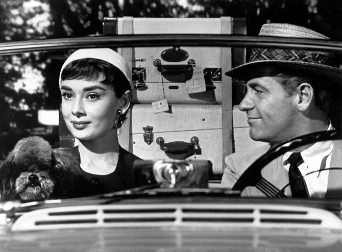 """Odri Hepbern u filmu """"Sabrina"""""""