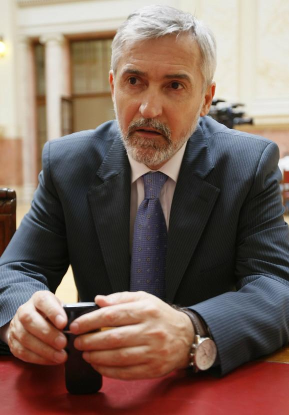 Meho Omerović, predsednik Odbora za ljudska i manjinska prava