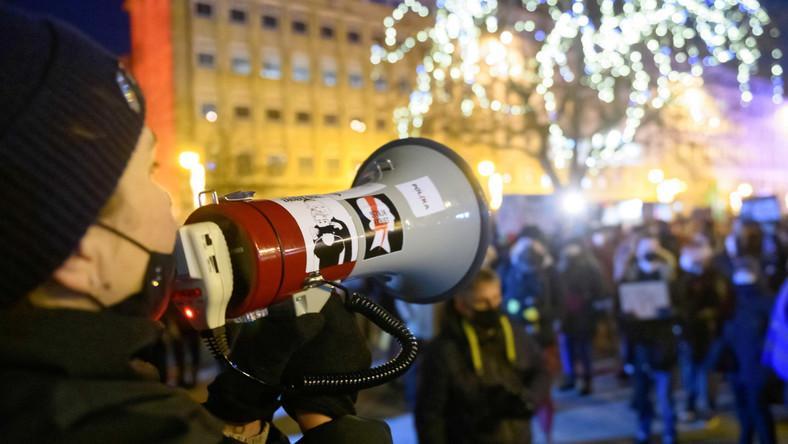 Protest w Poznaniu po wyroku TK ws. aborcji