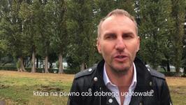 Totalnie wynicowany Krzysztof Gojdź odwiedza swoją mamę