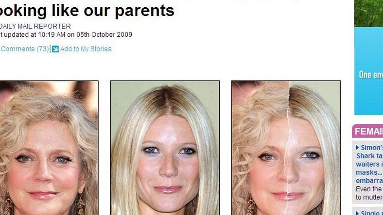 Gwyneth Paltrow i Blythe Danner