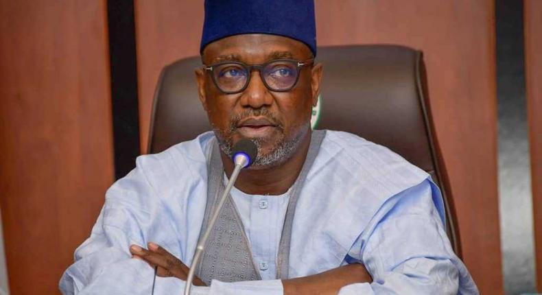 Niger State governor, Abubakar Sani Bello [Niger State Government]