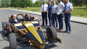 Polski bolid wyścigowy zbudowali studenci w Krakowie