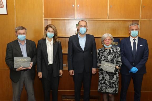 Goran Stevanović, Aleksandra Stojanović, Zlatibor Lončar, Edita Stokić, Jovan Purar MK