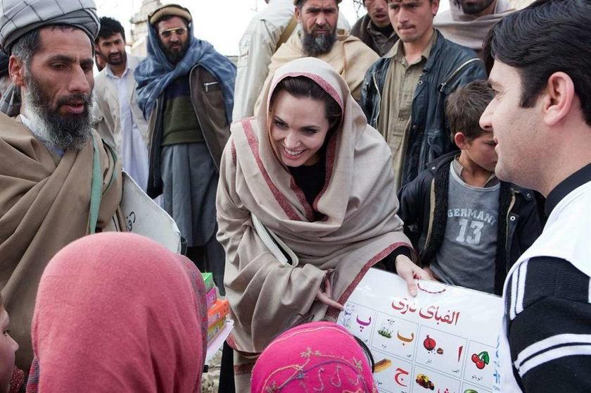 Angelina Jolie w Afganistanie