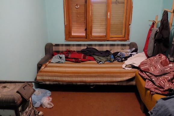 Soba gde je Vladica živeo i dovodio decu