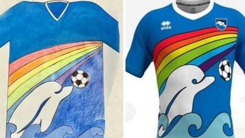 Koszulki zaprojektowane przez sześciolatka