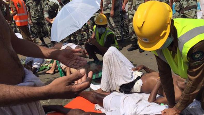 Do tragedii doszło w dolinie Mina, gdzie pielgrzymi zginęli w tłumie podczas jednego z rytuałów hadżdżu - muzułmańskiej pielgrzymki.
