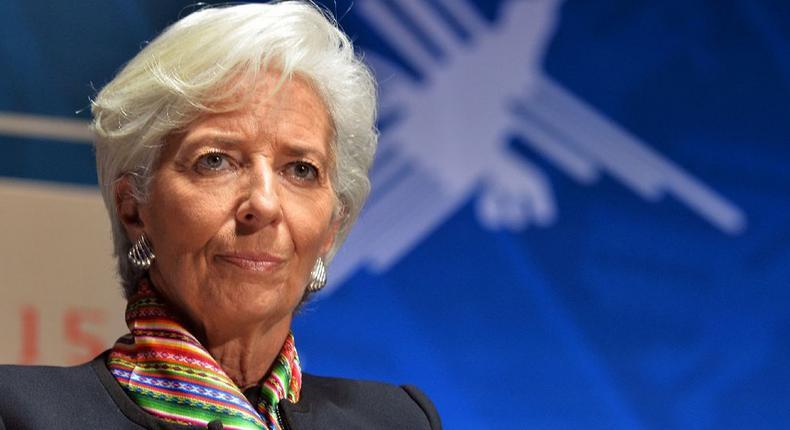 IMF boss,Christine Lagarde