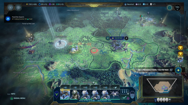 Age of Wonders: Planetfall - screenshot z gry