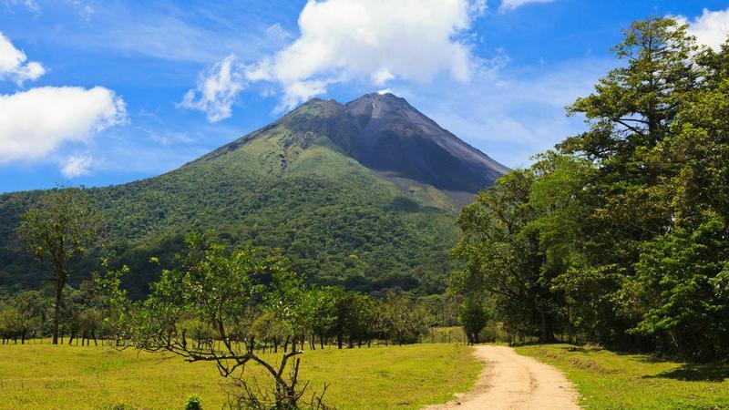 Wulkan, Kostaryka