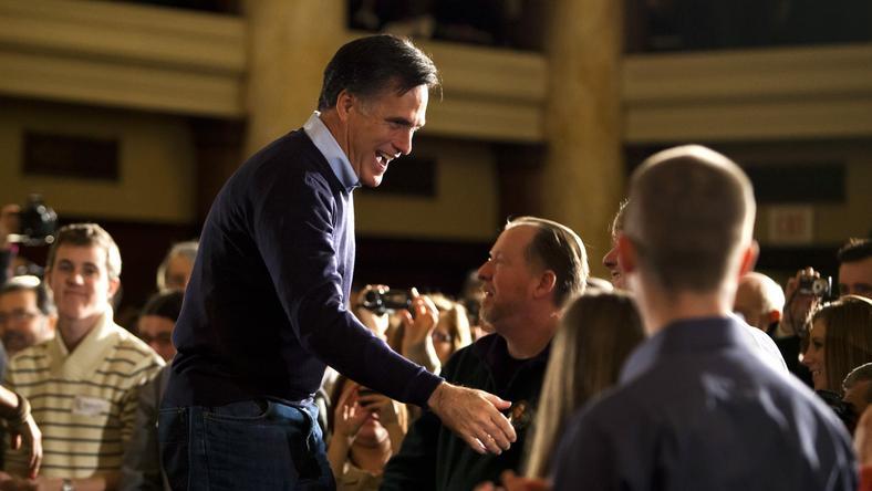 Mitt Romney, fot. PAP/EPA