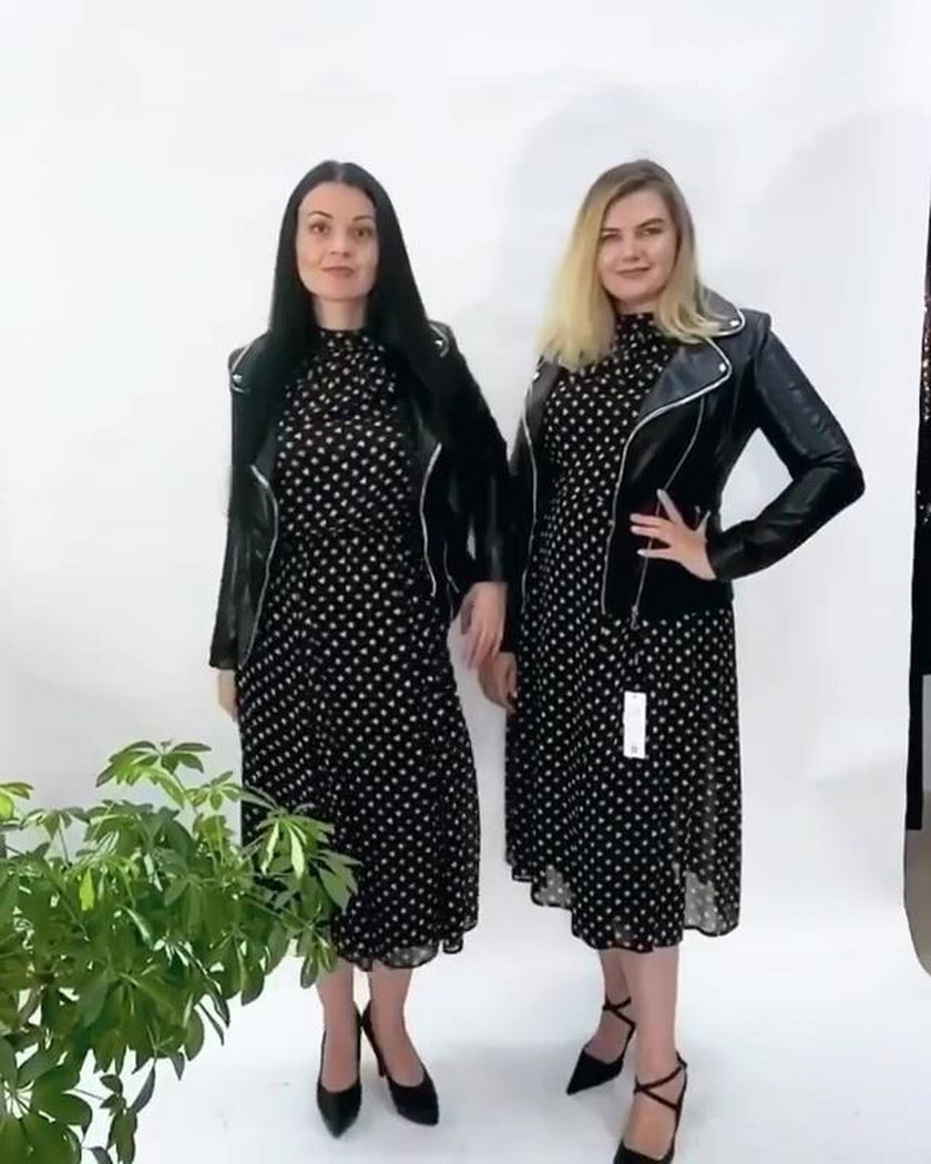 Jedna nosi XL, druga XS. Pokazały jak wyglądają w tych samych ubraniach z sieciówki