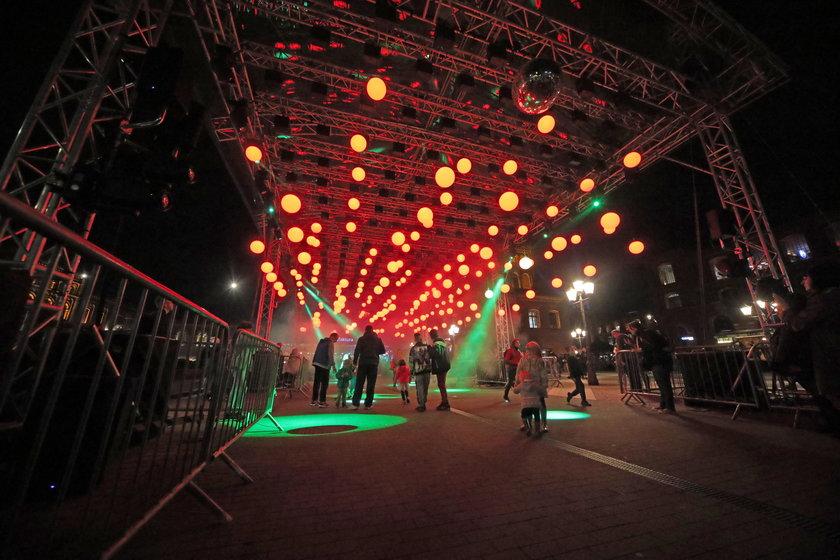 Festiwal światła w Łodzi. Zachwycające obrazy