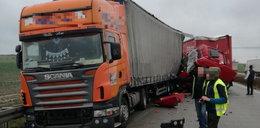 Tragiczny wypadek na A4! Nie żyje kierowca tira