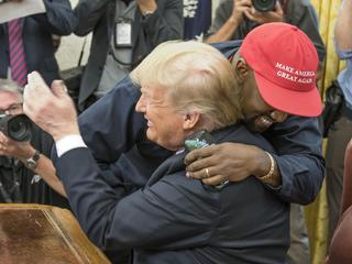 Kanye West Meets With President Trump