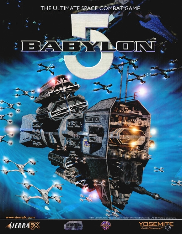 Babylon 5: Into the Fire - skasowana gra studia Yosemite