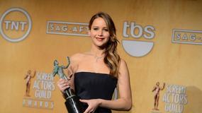 Jennifer Lawrence, Daniel Day-Lewis i Anne Hathaway z nagrodami Gildii Aktorów