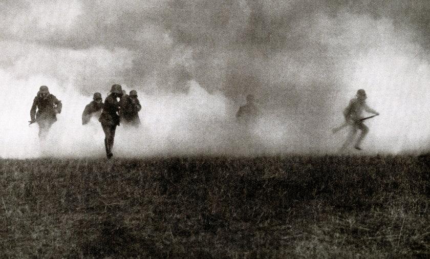 Atak gazowy w czasie I wojny światowej